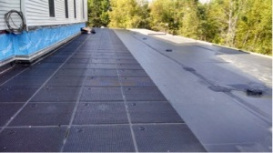 EDPM Membrane Roof & Roof Drains