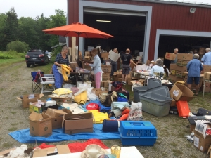 Bountiful Bargains at the St. Francis Fair August 8th on the Blue Hill Fairgrounds.